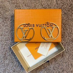 Louis Vuitton Hoop Earrings